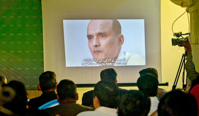 Kulbhushan Jadhav who was sentenced to death by a Pakistani military court on charges of espionage and terrorism