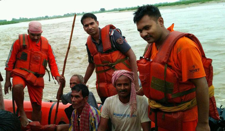 NDRF rescue in Bihar