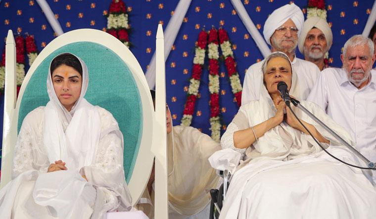 Sister Sudiksha anointed head of Sant Nirankari Mission