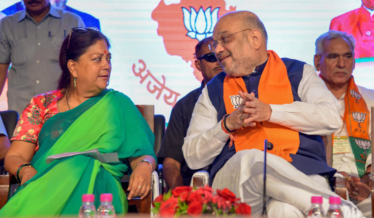 Raje to be BJP's chief ministerial candidate in next election