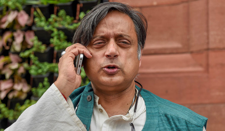 Sad to see Pilot 'leave' Congress: Shashi Tharoor