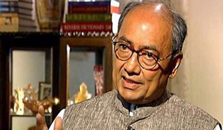 digvijaya singh moves out from bhopal residence