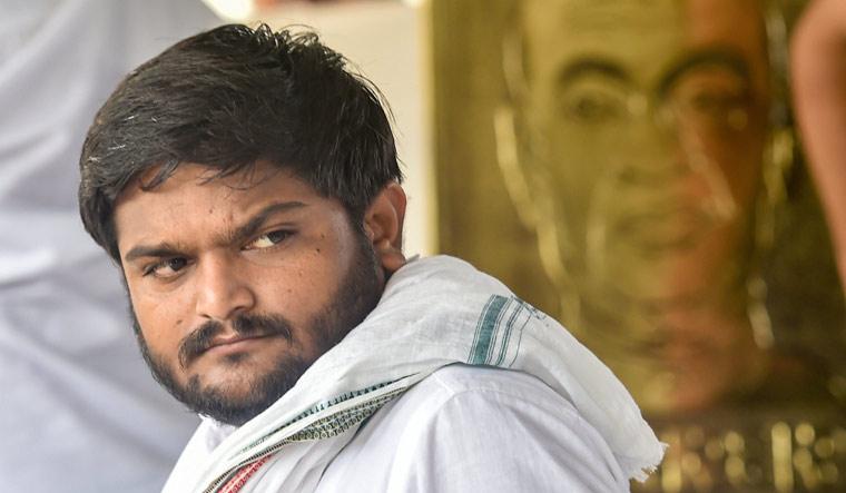 Patidar leader Hardik Patel | PTI