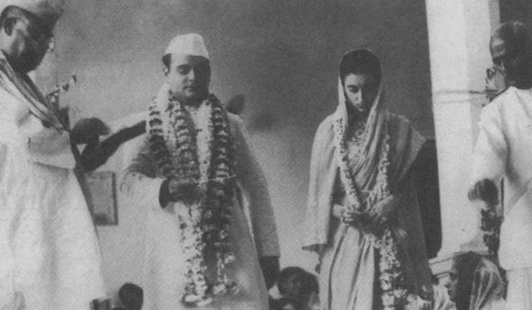 Feroze and Indira Gandhi