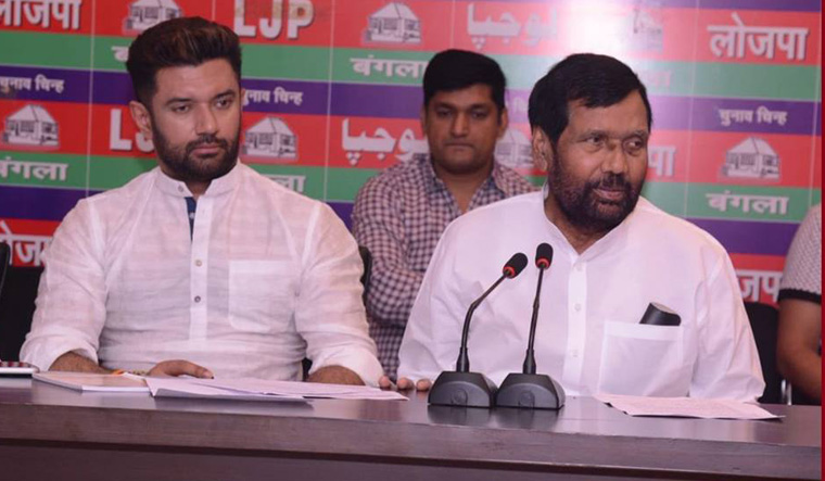 Is Ram Vilas Paswan Facing A Caste Tinged Family Feud The Week