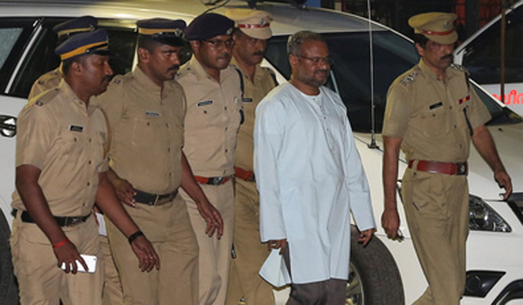 Mulakkal in custody