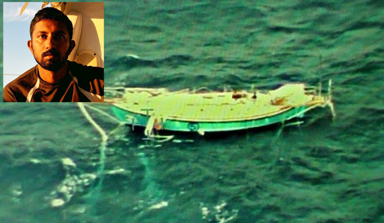 Sailor Abhilash Tomy 'conscious, talking' after rescue off WA coast