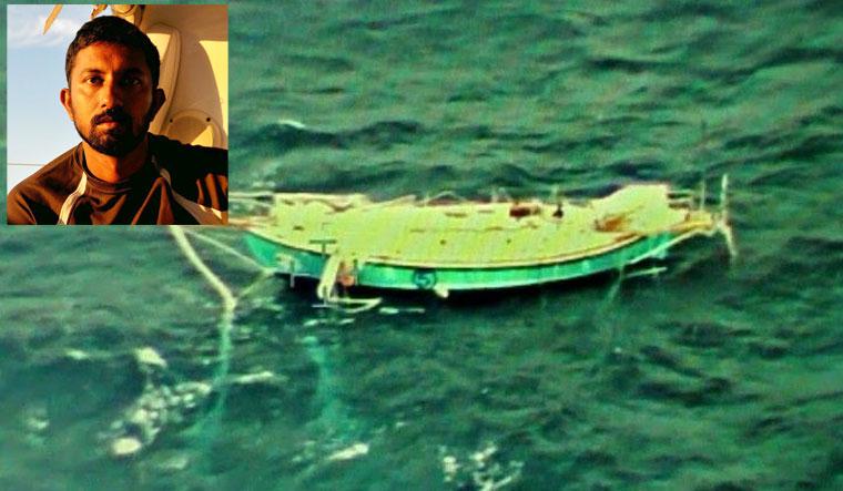 Abhilash Tomy rescued conscious says Navy spokesman
