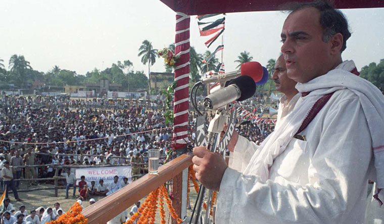 A file photo of Rajiv Gandhi | Reuters