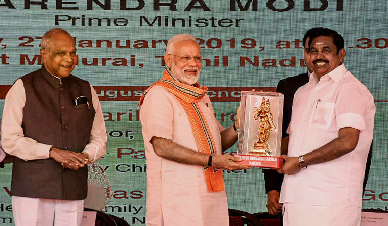 Modi in Madurai: NDA committed to strengthening universal healthcare initiatives