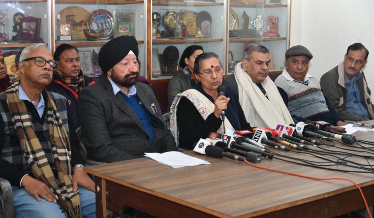 Trade unions presser Arvind Jain