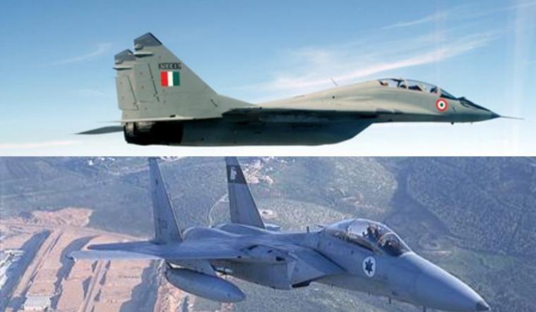 IAF MiG-29, Israeli F-15