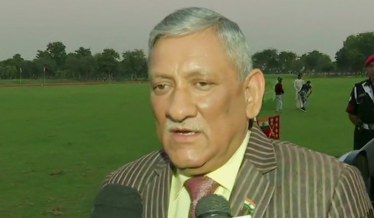 General Bipin Rawat: 6-10 Pak soldiers & terrorists killed, 3 camps destroyed