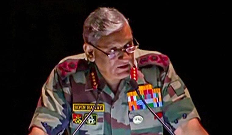 Army Chief Bipin Rawat   PTI