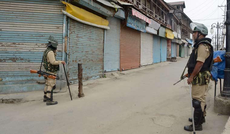 Srinagar security
