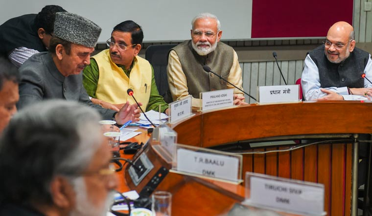 All-party meet: PM Modi says open to discussing all issues