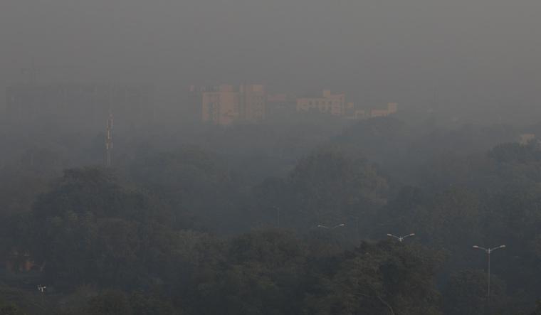 Delhi smog Reuters november 5 2019