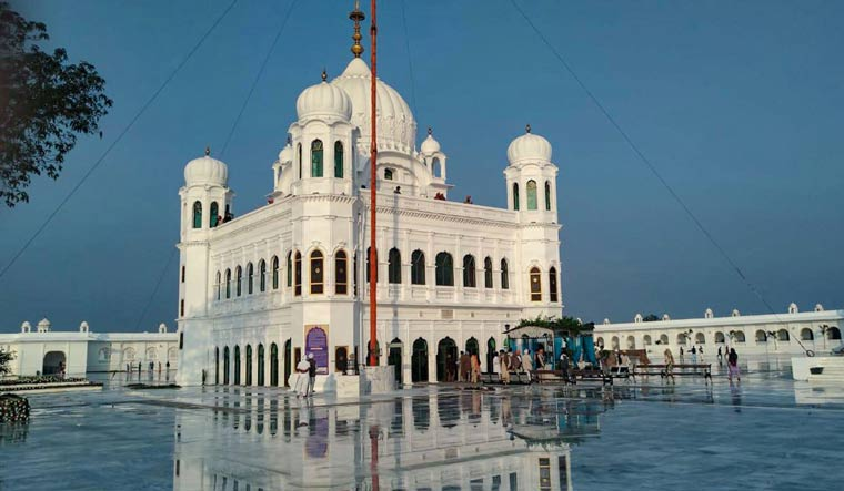 A view of Gurdwara Kartarpur Sahib in Pakistan | PTI