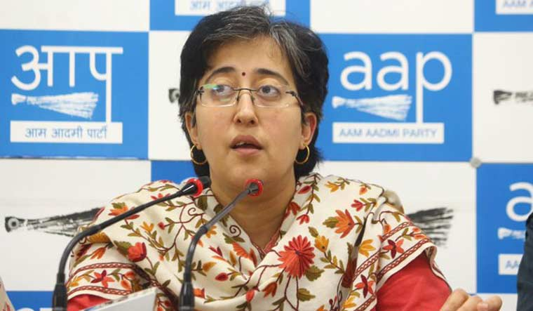 AAP spokesperson Atishi | Image source: Twitter