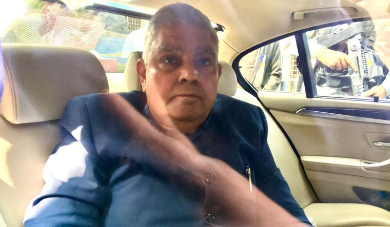 West Bengal Governor Jagdeep Dhankhar | Salil Bera