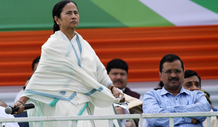 Kejriwal Mamata Salil Bera