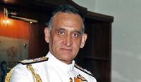 Retired admiral Arun Prakash