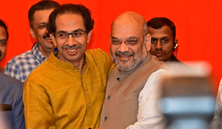 Alliance sealed, but BJP and Shiv Sena not on same page over CM post