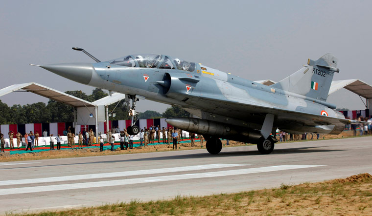 [File] Indian Air Force Mirage 2000 aircraft | Reuters