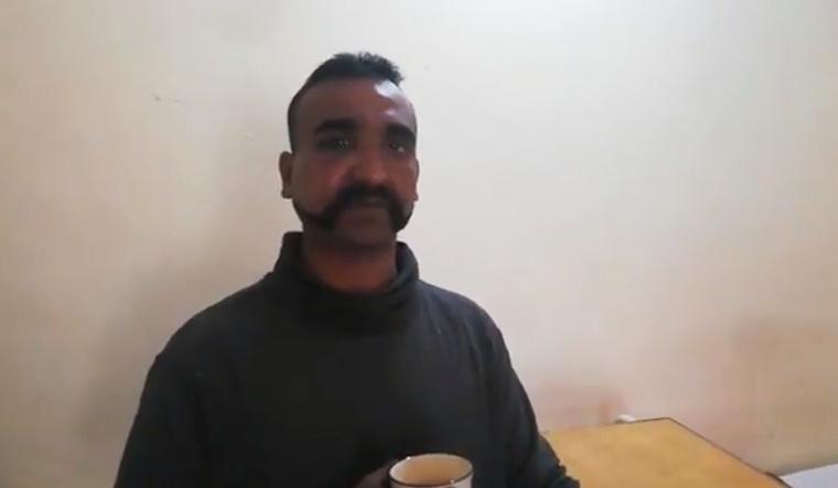 Wing Commander Abhinandan Varthaman   Video grab/Twitter