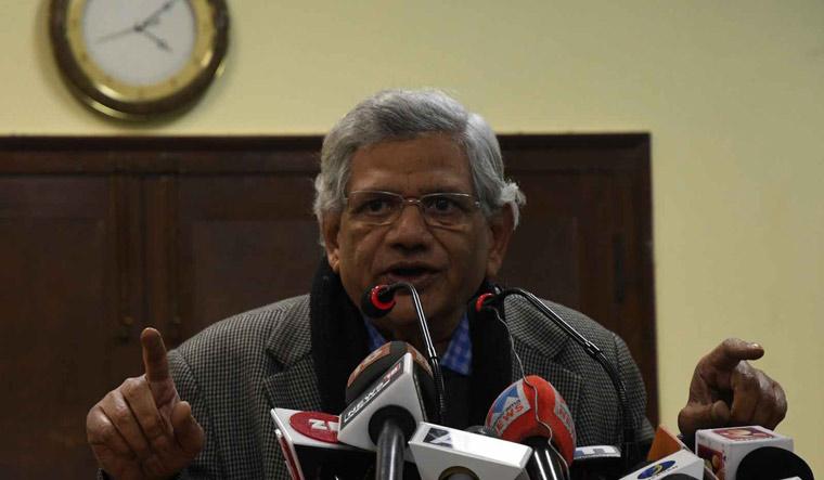 CPI(M) general secretary Sitaram Yechury   Sanjay Ahlawat
