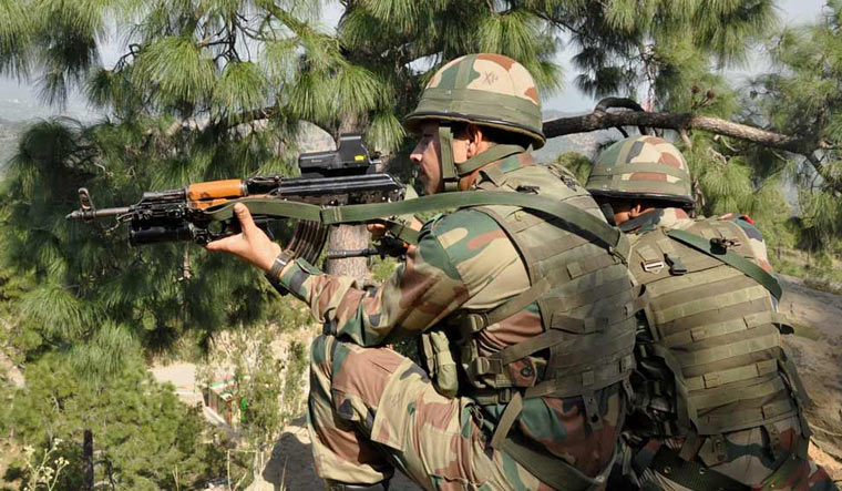 Ceasefire violation at 4 places in Poonch; Pak targets army posts, villages