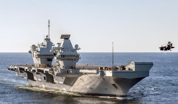 HMS Queen Elizabeth F-35B