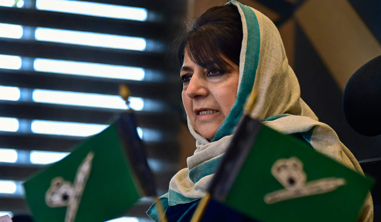 India becoming 'Orwellian dystopia', establishment controls everything, says Mehbooba Mufti