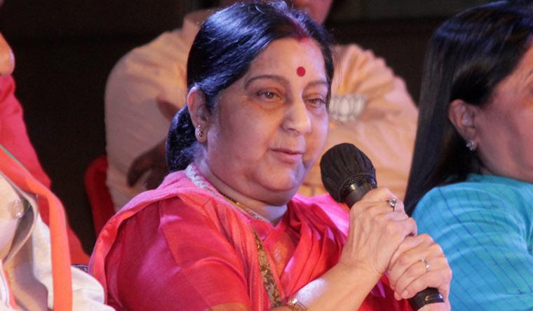 Sushma Swaraj explains why she prefixed 'chowkidar' to her name