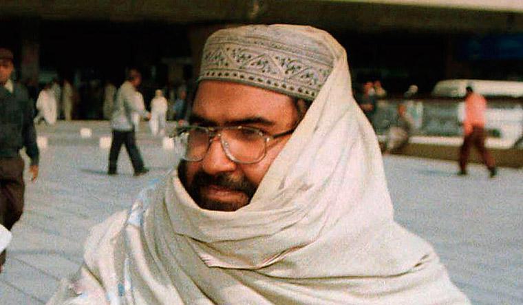 [File] Jaish-e-Mohammad chief Masood Azhar | AP