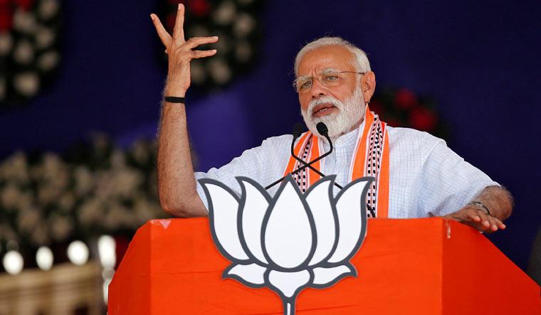 Modi in Junagadh Reuters