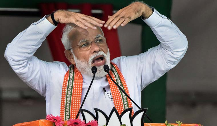 Modi's cloud theory triggers jokes, memes, EC complaint - The Week