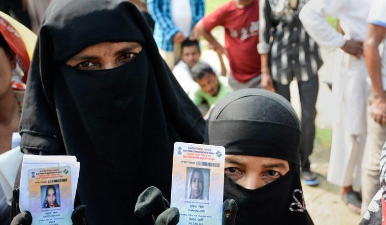 Nalbari burqa PTI