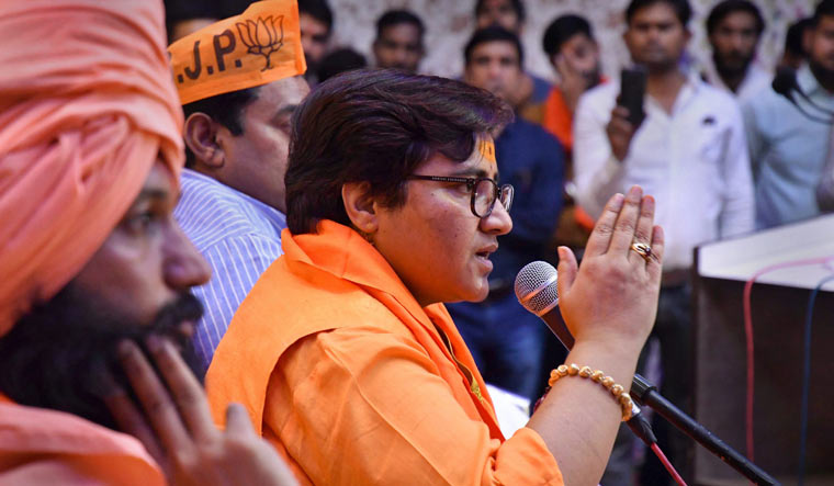 Pragya Thakur was one of the eight people who were acquitted by a lower court in 2017 in the Joshi murder case due to lack of evidence | PTI