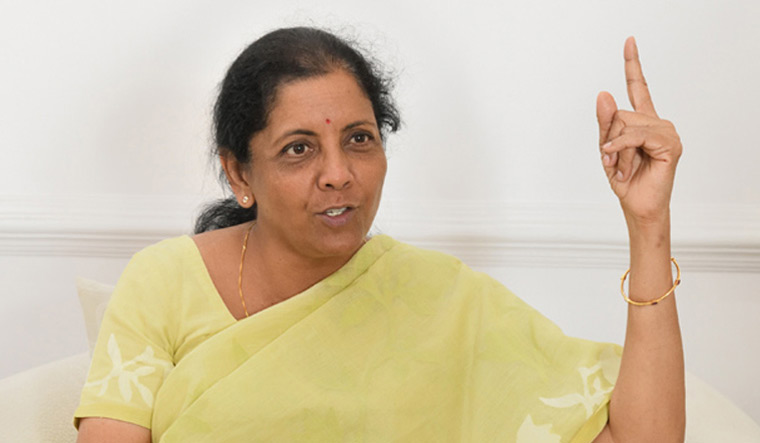 Send message you don't need someone 'airdropped from Delhi': Sitharaman to voters