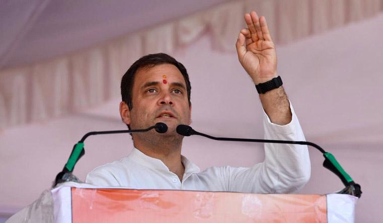 Rahul in Dungarpur Congress Twitter