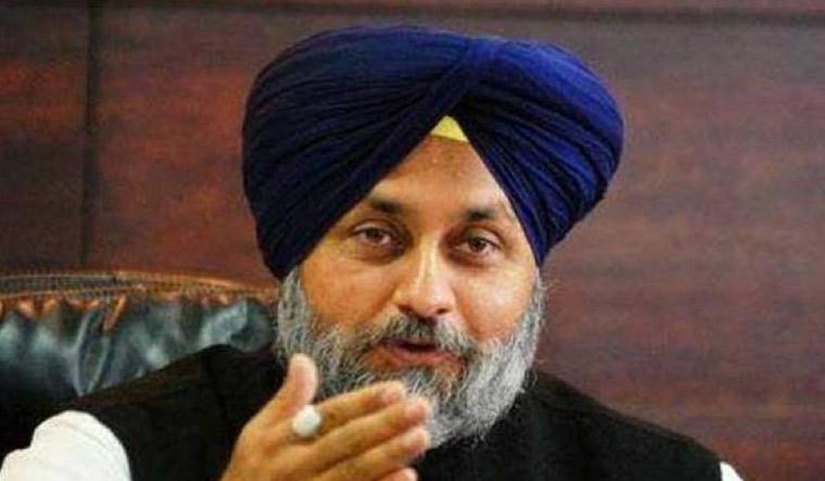 Shiromani Akali Da president Sukhbir Singh Badal
