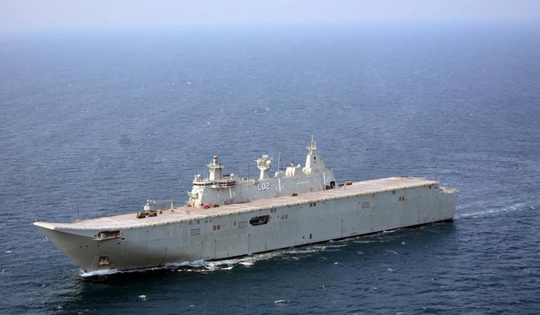 HMAS Canberra Indian Navy