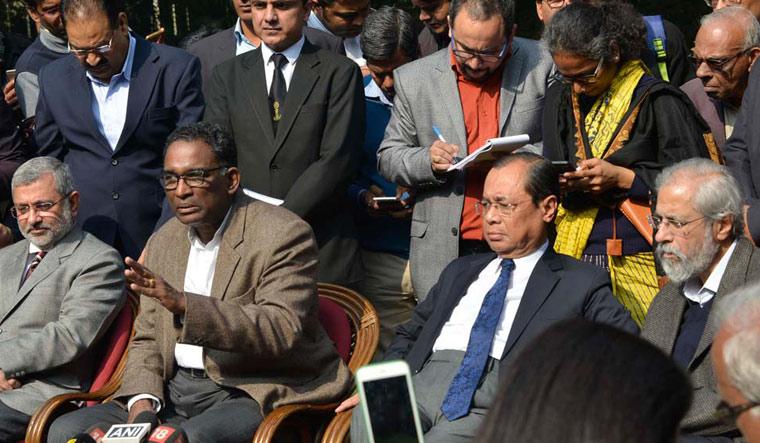 Judges presser Arvind Jain
