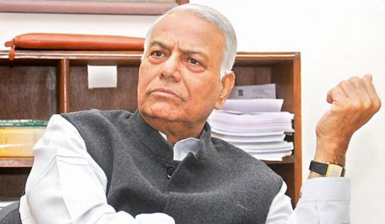 Frenzy over one leader can be dangerous for democracy: Yashwant Sinha