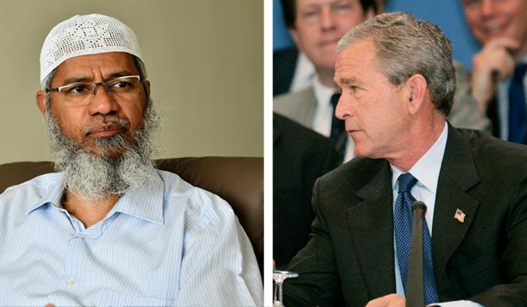 Zakir-Naik-George-Bush