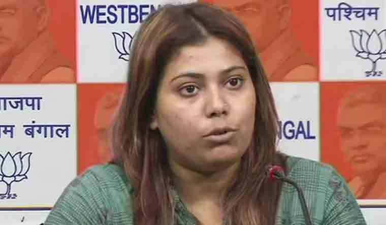 BJP Youth Wing convenor Priyanka Sharma
