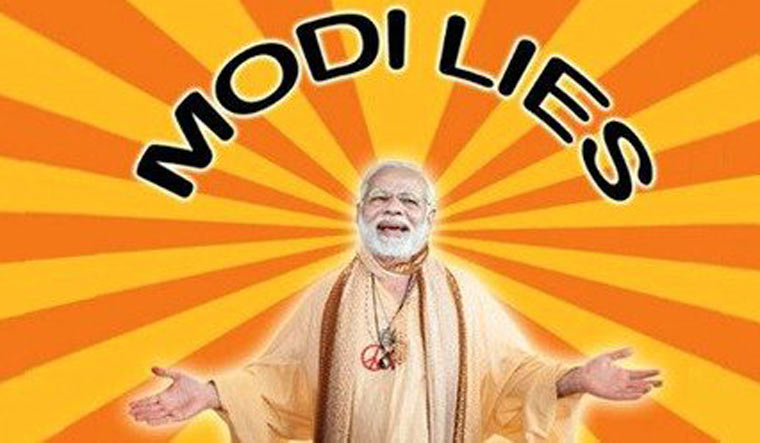 Modi Lies website