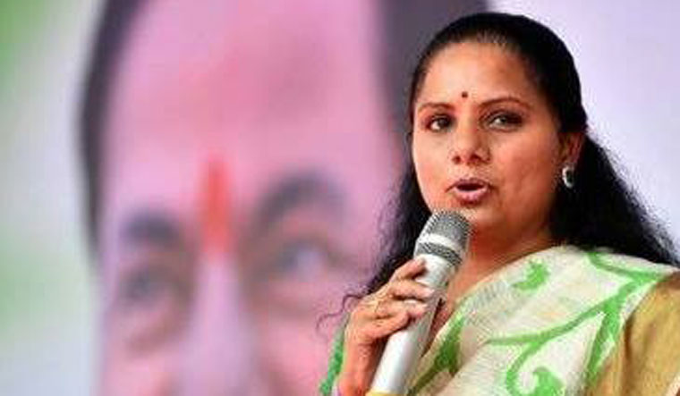 Telangana: KCR's daughter Kavitha trails; BJP makes huge gains