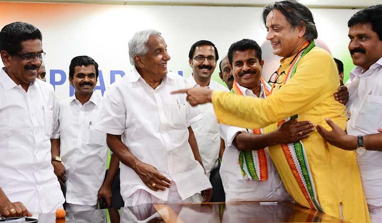 Shashi Tharoor Congress R.S. Gopan